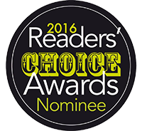 2016 Readers Choice Awards Nominee